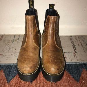 Dr. Martens Shoes - Rometty Platform Doc Martens